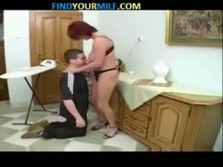 俄 媽媽 和 兒子 家庭 seductions 09