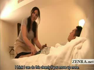 масажистка, японски, voyeur
