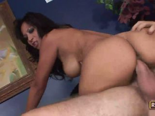 Two brunette amateur girls getting pussy fucked in the same room