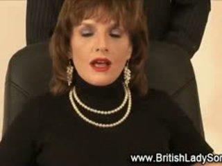 brit ellenőrzés, igazi blowjob névleges, cumshot tréfa