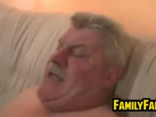 Teen Fucked By Her Fat Father In Law