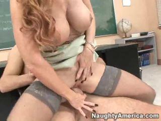 hardcore sex, rødhårete, får hennes fitte knullet