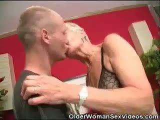 Dentures ir blowjobs senelė