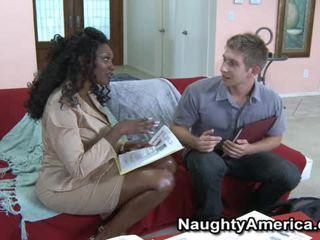 Busty đen khiêu dâm mô hình nyomi banxxx wants các whitey