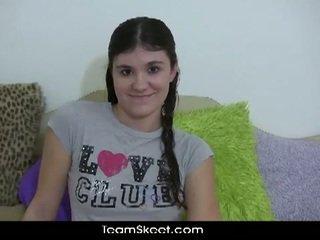 Slutty teen brunette krista wants to b...