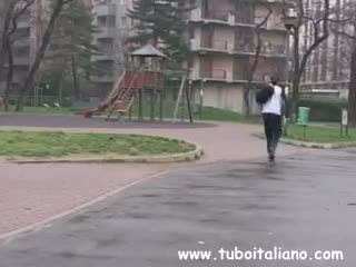 Italština dospívající starší si scopa