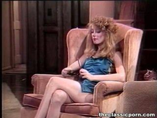 porno žvaigždės, porno mergina ir vyrai lovoje, senas pornografija