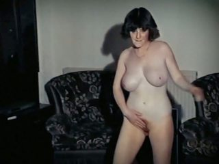 Whole Lotta Rosie - Vintage Big Tits Schoolgirl Strip