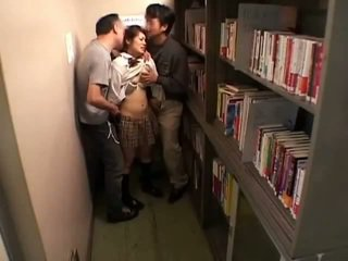 Schoolgirls groped av perverts i schoollibrary 7