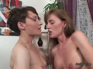 Lesbians olga c and elena loves to fuck gara strapon