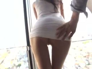 Daffy giapponese ragazza has enorme core xxx in an apartment