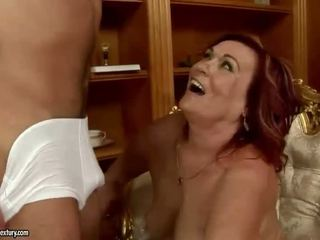 hardcore sex, stary, babcia