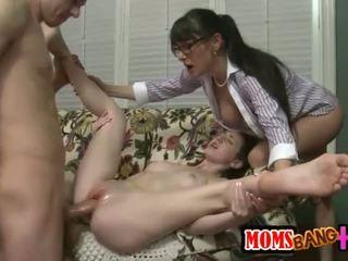 group sex, big cock, threesome