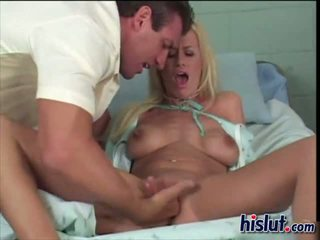 Kylie gets a check up of her sweet puss