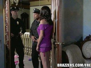ملكة جمال mckenzie wants إلى اللعنة ل شرطي. هي gets لها رغبة