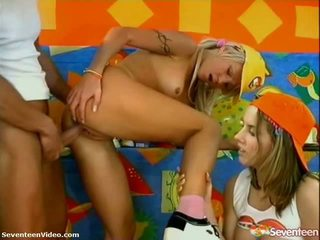 Pleased Birthday Legal Age Teenager 3some