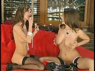 girlfriends, big tits, stockings