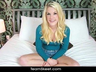 Blondi teenie rebecca nuori takes iso kukko