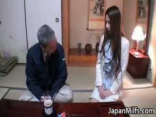japoński, interracial, dojrzały