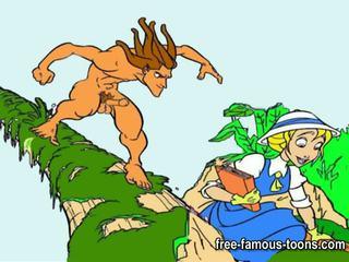 Tarzan a dospívající jane tvrdéjádro orgie