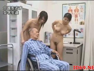 giapponese, pompino, orientale