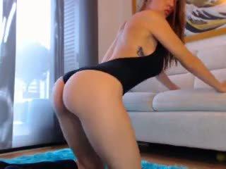 Sexy rousse webcam fille avec grand nichons 3: gratuit porno cb