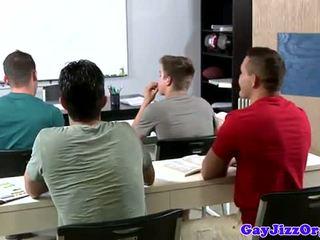 Výstrek loving učiteľka dominated v trieda