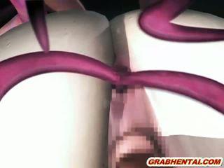 3d hentai kova tentacles porattu kaikki hole