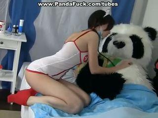 Sporco sesso a cura un malato panda