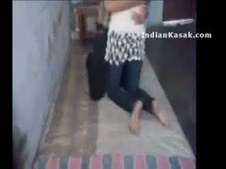 هندي delhi كلية lovers enjoying في هم غرفة