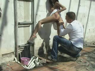 Awesome Chick Fuck Outside