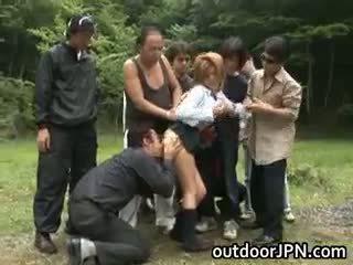 japonés, sexo en grupo
