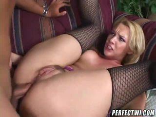 blondinės, assfucking, analinis seksas