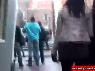 Reale bionda olandese adescatrice gets eaten fuori
