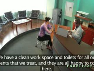 Bezpieczeństwo kamera pieprzenie w fake szpital