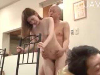 japonski, group sex, cumshot