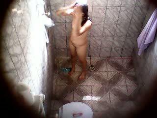 doccia, sorella, teenager