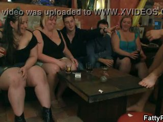 Group big tits party