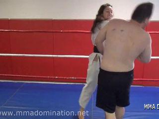 Misto fight- headscissor beatdowns calpestamento humillation