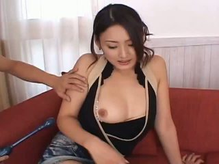 Risa aianlovely אסייתי בובה gets כוס teased