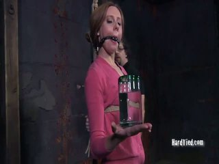 Hot Girl Bondaged Video