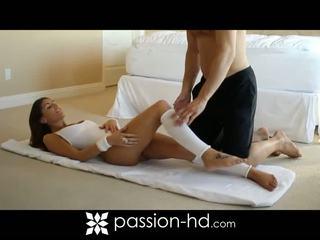 Sexy aerobic trainingseinheit