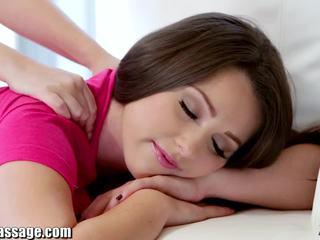 Ekskluzywny wszystko dziewczyna masaż nastolatka lesbijki cipka eating