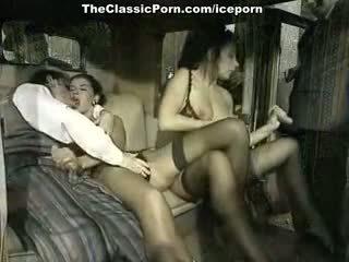 brunette, đôi thâm nhập, nhóm quan hệ tình dục