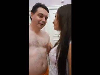 Andrea diprè fucks ل الكوبي فتاة (yuri)