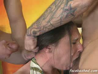 deepthroat, grganie, výstrek