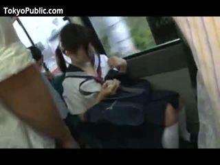 Hapon school babes get cumshots publiko