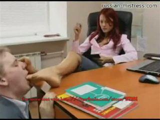 Russian-mistress foten slave