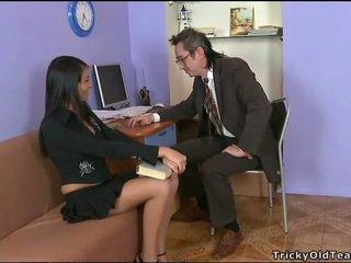 Delightful anální pohlaví s učitel