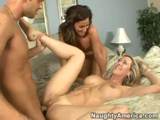 Rockin Hot Adriana Deville Enjoying A Fresh Load Of Cum They Share Jointly